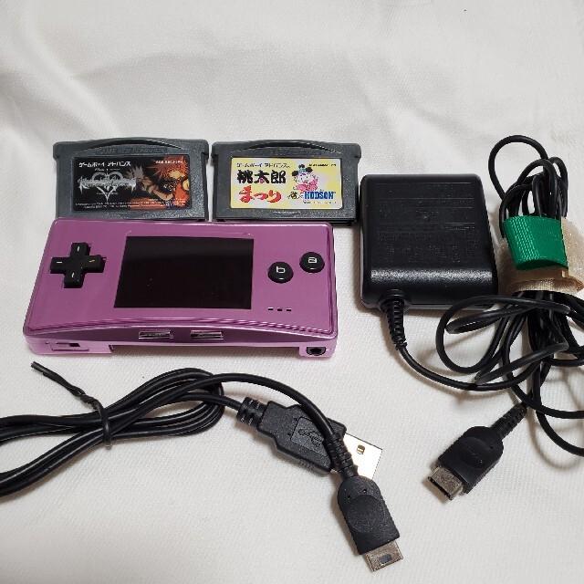 ゲームボーイアドバンス(ゲームボーイアドバンス)のゲームボーイミクロ ソフト セット エンタメ/ホビーのゲームソフト/ゲーム機本体(携帯用ゲーム機本体)の商品写真