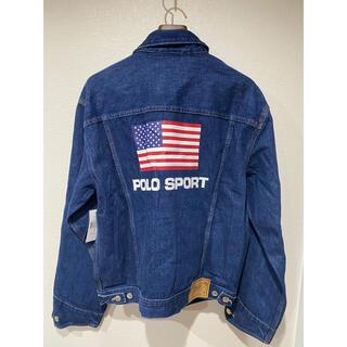 ポロラルフローレン(POLO RALPH LAUREN)のポロスポーツ アメリカ USA 星条旗 デニムジャケット(Gジャン/デニムジャケット)