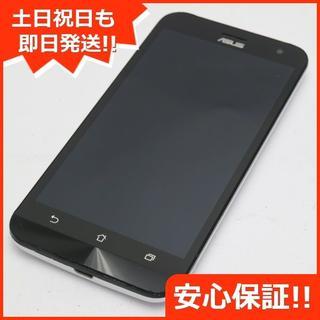 エイスース(ASUS)の良品中古 SIMフリー ZenFone2 Laser ZE500KL ホワイト (スマートフォン本体)