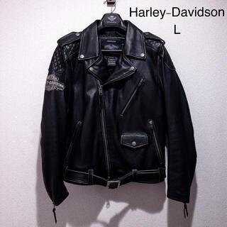ハーレーダビッドソン(Harley Davidson)のハーレーダビッドソン ライダース レザージャケット 革ジャン(ライダースジャケット)