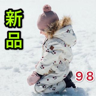 ファミリア(familiar)の★新品★ タグ付きKuling スノーウェア 98 男女兼用 防水 暖かい 真冬(コート)