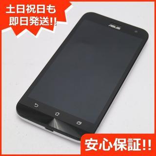 エイスース(ASUS)の美品 Zenfone 2 Laser ZE500KL 8G ホワイト (スマートフォン本体)