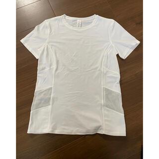 ルルレモン(lululemon)のLululemon ルルレモン  Tシャツ サイズ6 ホワイト(ヨガ)