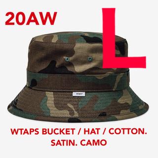 W)taps - WTAPS BUCKET HAT COTTON. SATIN. CAMO L