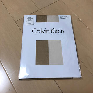 カルバンクライン(Calvin Klein)の新品 カルバンクライン ストッキング アーク ベージュ S〜M (タイツ/ストッキング)