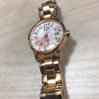 オリエント(ORIENT)のORIENT レディース時計 ピンクゴールド(腕時計)