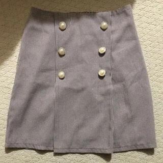 バイバイ(ByeBye)のチェックスカート スカート(ミニスカート)