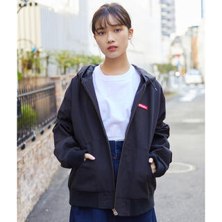 ミルクフェド(MILKFED.)の新品♡ミルクフェド パーカージャケット ブルゾン ブラック(ブルゾン)