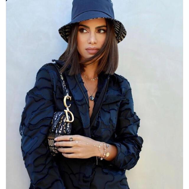 Christian Dior(クリスチャンディオール)のDIOR柄 バケットハット ボブハット レディースのアクセサリー(ピアス)の商品写真