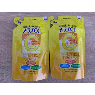 ロートセイヤク(ロート製薬)のメラノCC 薬用しみ対策 美白化粧水 つめかえ用 170ml 2袋セット(化粧水/ローション)