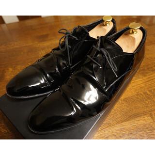 コムデギャルソン(COMME des GARCONS)の【JARED LANG】本革エナメルシューズ 革靴 レースアップシューズ(ドレス/ビジネス)