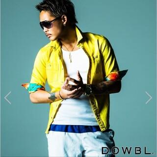 ダブル(DOWBL)のDOWBL ダブル カツラギ 6分袖シャツ(シャツ)