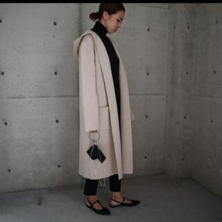 イエナスローブ(IENA SLOBE)のella knit hoodie long cardigan (ニットコート)