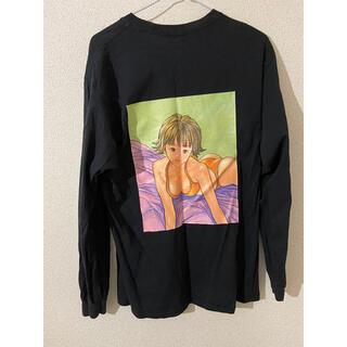 スピンズ(SPINNS)のアイズ ロングスリープTシャツ SPPINS(Tシャツ(長袖/七分))