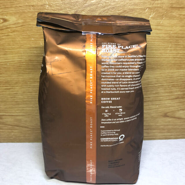 Starbucks Coffee(スターバックスコーヒー)の☆大容量☆スターバックスコーヒー☆パイクプレイスロースト 793g ☆コストコ 食品/飲料/酒の飲料(コーヒー)の商品写真