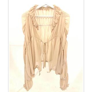 エディットフォールル(EDIT.FOR LULU)のpapier gathered jacket(シャツ/ブラウス(長袖/七分))
