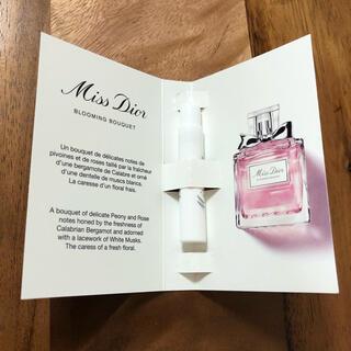 クリスチャンディオール(Christian Dior)の非売品  ミスディオール ブルーミングブーケ  オードゥトワレ1mL(香水(女性用))