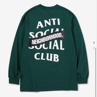ネイバーフッド(NEIGHBORHOOD)のNEIGHBORHOOD ASSC アンチソーシャルソーシャルクラブ ロンT(Tシャツ/カットソー(七分/長袖))