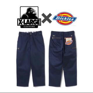 エクストララージ(XLARGE)のXLARGE Dickies コラボ work pants(ワークパンツ/カーゴパンツ)