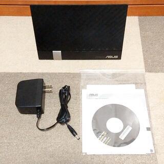 エイスース(ASUS)のASUS RT-AC65U デュアルバンドWi-Fi無線ルーター(PC周辺機器)