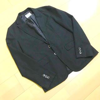 エイチアンドエム(H&M)のストライプジャケット(テーラードジャケット)