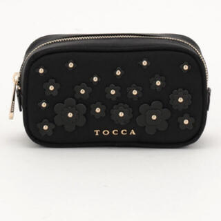 TOCCA - BAG COLLECTION♡LEATHER FLOWERS POUCH ポーチ