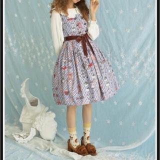 アンジェリックプリティー(Angelic Pretty)のジンジャーブレッドマンのジャンパースカート(ひざ丈ワンピース)
