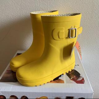 キッズ レインブーツ 長靴 18.0㎝ 汚れあり 未使用 値下げ