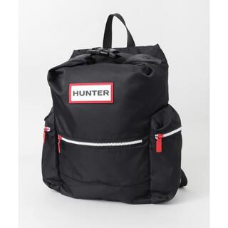 HUNTER - 新品 HUNTER ハンター トップクリップ リュック バックパック ブラック