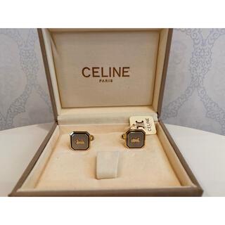 celine - CELINE セリーヌ カフス シルバー ゴールド 馬車柄 カフリンクス 箱付き