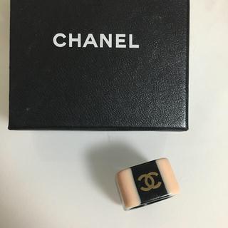 シャネル(CHANEL)のCHANEL ツートン リング(リング(指輪))