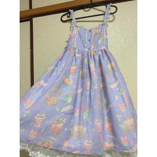 アンジェリックプリティー(Angelic Pretty)のロリータ ジャンパースカート(ひざ丈ワンピース)