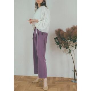 ステュディオス(STUDIOUS)の専用お取置き 新品タグ付き CLANE クラネ basic tuck pants(カジュアルパンツ)