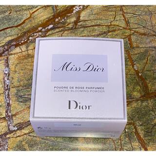 クリスチャンディオール(Christian Dior)のdior ディオール ミスディオール ボディパウダー 限定(ボディパウダー)