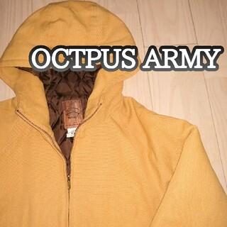 オクトパスアーミー(OCTOPUS ARMY)のOCTPUS ARMY ダックフード XLサイズ(ミリタリージャケット)
