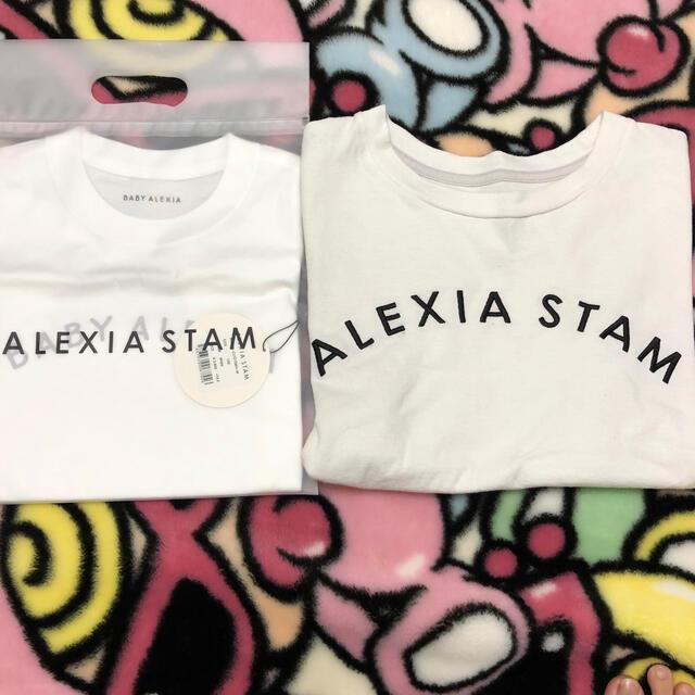 ALEXIA STAM(アリシアスタン)のちゃちゃこちゃん❤️ レディースのトップス(Tシャツ(半袖/袖なし))の商品写真