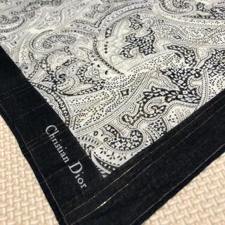 Christian Dior - クリスチャンディオール シック ペイズリー柄 ハンカチ スカーフ
