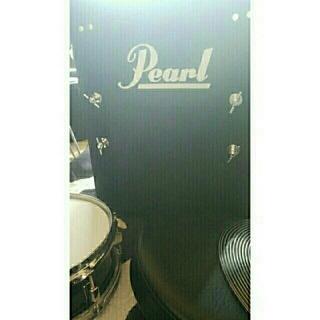 パール(pearl)のpearl black box コンパクト ドラムセット(セット)