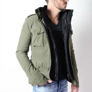 ダブルジェーケー(wjk)のwjk M65,M66 field jacket sizeL  定価99000円(ミリタリージャケット)
