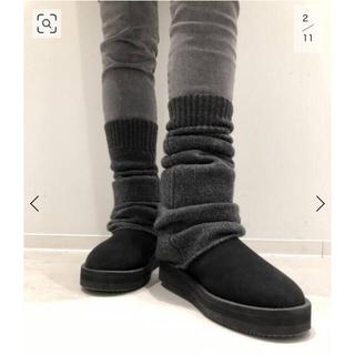 アパルトモンドゥーズィエムクラス(L'Appartement DEUXIEME CLASSE)の新品タグ付 L'Appartement Cashmere Leg Warmer*(レッグウォーマー)