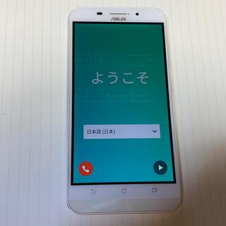 エイスース(ASUS)のAsus zenfone Max 中古 箱 付属品(スマートフォン本体)