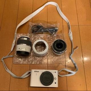 Nikon - ニコン Nikon1Jダブルズームキット ホワイト