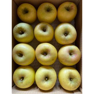 減農薬栽培山形産パリパリ感持続ナンバー1シナノゴールドりんご3k箱満タンバラ詰め(フルーツ)