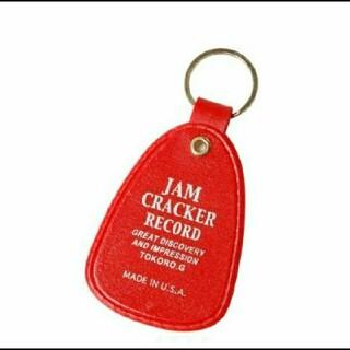 トイズマッコイ(TOYS McCOY)の世田谷ベース オフィシャル キーホルダー  JAM CRACKER RECORD(キーホルダー)