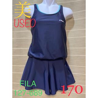 FILA - <USED> FILA ブラウジングAライン スカートワンピース 127-689