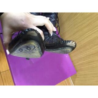 オゥバニスター(AU BANNISTER)のオゥバニスター レースアップあったかブーツ 確認用写真(ブーツ)