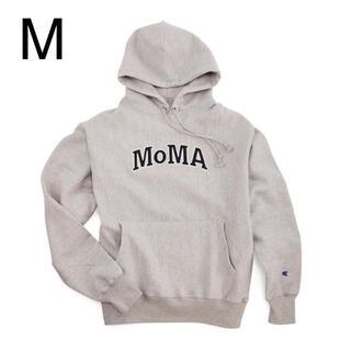 MOMA - 【Mサイズ】 海外限定 MOMA × champion パーカー グレー