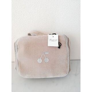 ボンポワン(Bonpoint)のにゅうさまご専用【Bonpoint】(S)スーツケース ベロア ベージュ(その他)