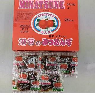 送料一律 箱なし 港常 みつあんず 30袋(菓子/デザート)