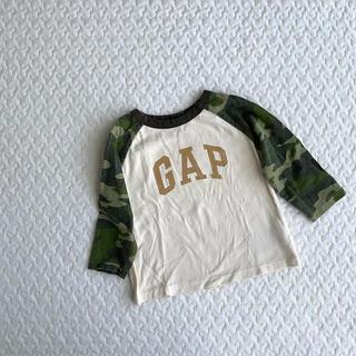 babyGAP - babyGAP  ヴィンテージ加工  長袖Tシャツ  ベビー  80